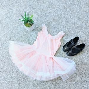 Ballerina Leotard and Black Tap Shoes Set